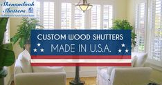 Shenandoah Shutters has all the answers when it comes to building and installing custom plantation shutters for your doors and windows.