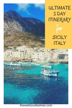 The ultimate 5 day itinerary for Sicily, Italy