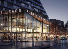 Snøhetta reveals design for Portland's first market since 1942