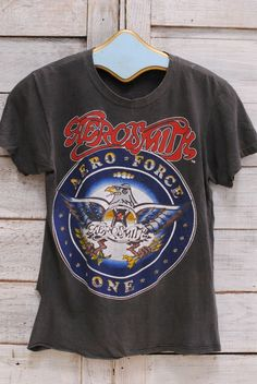 "AEROSMITH ""Aero Force One"" 1987 Tee"