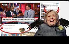 Ben Carson Hillary Clinton Lucifer