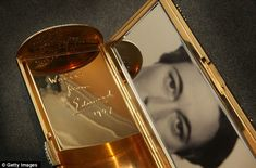 Personal messages: Cartier gold and diamond necessaire du soir, are engraved with personal messages from Edward to Wallis.