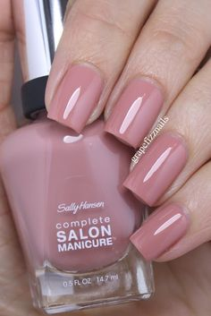 PRESS SAMPLES     Hiya Dolls!        I have 6 Sally Hansen Complete Salon Manicure  polishes to share with you today and they are all neut...