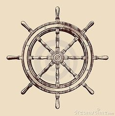 """Ship Wheel """"Be the one to guide me"""""""