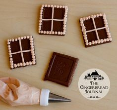 gingerbread house, Halloween gingerbread house, no-bake, tutorial – The Gingerbread Journal Gingerbread House Pictures, Gingerbread House Icing, Homemade Gingerbread House, Graham Cracker Gingerbread House, Halloween Gingerbread House, Gingerbread House Template, Cool Gingerbread Houses, Gingerbread House Designs, Gingerbread Decorations