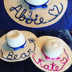 Bride to be hat at The Personalised Hat and Bag Company see face book And  Instagram Personalised hat personalised hats and bags slogan hat floppy h… 005ccdb976e