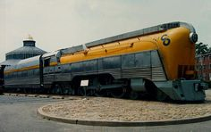 """The streamlined Art Deco styled shell of the locomotive was designed by Raymond Loewy."""" Description from pinterest.com. I searched for this on bing.com/images"""