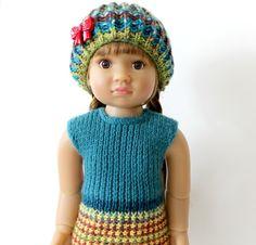 knitting pattern for 18 inch Kidz doll by DandyMe