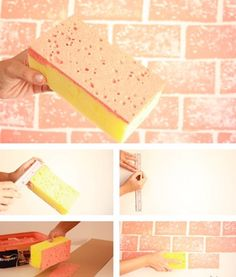 15 Epic DIY Wall Painting Ideas to Refresh Your Decor &; Useful DIY Projects 15 Epic DIY Wall Painting Ideas to Refresh Your Decor &; Useful DIY Projects Maryam maramaaat DIY and crafts […] ideas for walls Paint For Kitchen Walls, Kitchen Wall Art, Kitchen Decor, Kitchen Interior, Kitchen Tables, Paint My Room, Brick Interior, Interior Walls, Diy Wall Painting
