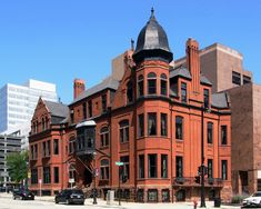 Historic downtown building - Milwaukee, Wisconsin, USA