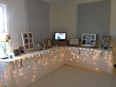 50th Wedding Anniversary Celebration -Entry Table by Ideas for Anna