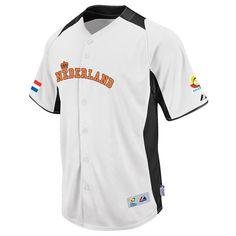 Netherlands 2013 World Baseball Classic Authentic Home Jersey - MLB.com Shop