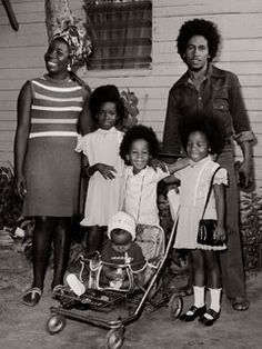 Bob Marley and family
