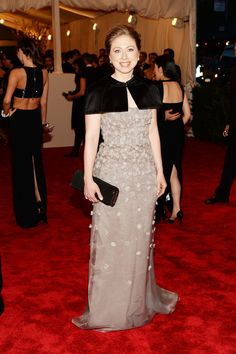 Chelsea Clinton attend the Costume Institute Gala for the