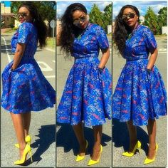 Trendsetting Ankara Styles: Make A Long Lasting Fashion Statement! - Wedding Digest Naija Trendsetting Ankara Styles: Make A Long Lasting Fashion Statement! - Wedding Digest Naija Trendsetting Ankara Styles: Make A Long Lasting Fash African Dresses For Women, African Print Dresses, African Attire, African Wear, African Fashion Dresses, African Women, Nigerian Fashion, African Prints, Ankara Fashion