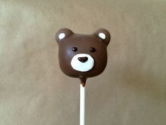 Woodland Cake Pops Series: You Must Make These Sweet Bear Cake Pops!