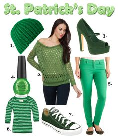 02491571 St. Patrick's Day Clothing St Pattys Day Outfit, St Patrick's Day Outfit,  Outfit
