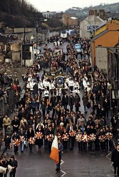 Bobby Sands: funeral procession 1981