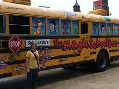 THE MAGIC SCHOOL BUS!!!