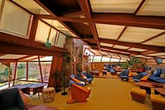 Taliesin West. 1937. Frank Lloyd Wright's winter home and studio from 1937 until his death in 1959.