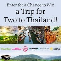 I just entered the Prevention Magazine Thailand Sweepstakes! NO PURCH NECESSARY. Open to 46 US & DC (excluding AK, HI, MI, RI, PR & CAN), 21+. Ends 7/21/17. See rules at www.prevention.com/thailandsweepstakes.