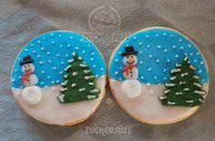 Atelier Zuckersüss: snowglobes cookies
