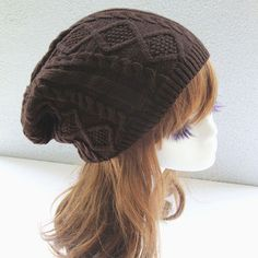 Fashion Women New Design Caps Twist Pattern Women Winter Hat Knitted Sweater Fashion Hats 6 colors Y1 Q1