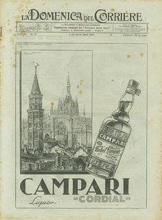 Domenica del Corriere - 7 / 13 Aprile 1940  #TuscanyAgriturismoGiratola