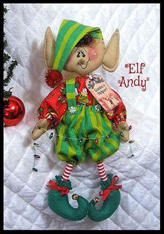 Christmas Elf Doll, Christmas Ornament Crafts, Christmas Time, Ornaments, Elf Me, The Elf, Scarecrow Doll, Patriotic Decorations, Christmas Decorations