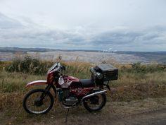 Jawa 350 adventure