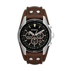 3f678550eacd6 9 best Relógios Fossil images on Pinterest   Leather watches ...