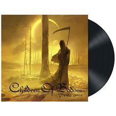 """L'album dei #ChildrenOfBodom intitolato """"I Worship Chaos"""" su vinile nero."""