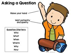 Free Download: Asking a Question Poster and Compliment Cards for students who ask good questions