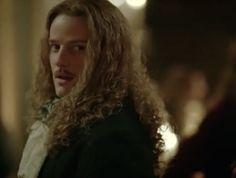 Evan Williams as the brilliant Chevalier de Lorraine in Versailles