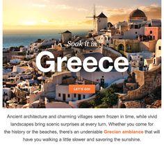 Travel Spotlight: Greece