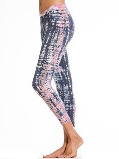 Mini Tonal Stripe below Knee Legging. #hardtailforever #yoga