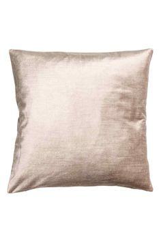 Бархатный чехол для подушки - Светло-бежевый - HOME | H&M RU