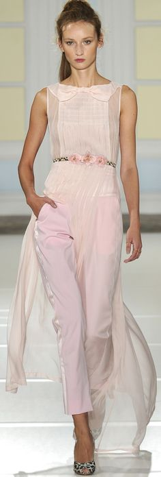 Pinky Pleasures At The Temperley Collection ~ London S/S RTW