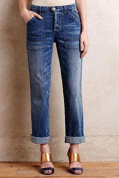 Pilcro Folio Jeans - anthropologie.com