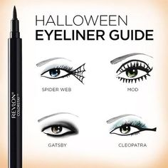 CHIC HOLIDAY | Halloween Eyeliner Guide