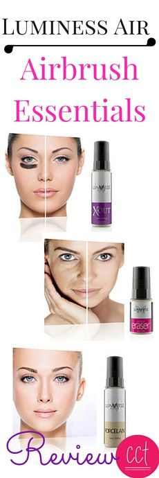 Airbrush makeup is water-based and oil free, which makes it feel very light.  Luminess Air Airbrush - Airbrush Essentials