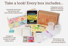 Appleseed Lane- Kids science monthly subscription box- great for homeschooling!