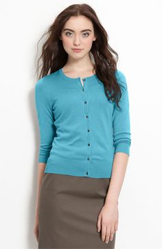 Love this cardigan in any shade of green, blue, aqua...