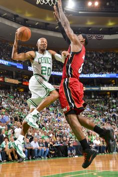 Ray Allen, Boston Celtics, Lebron James Miami Heat