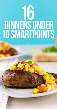 Healthy Weight Weight Watchers lovers: Enjoy these amazing low points meals! - 16 Dinners Under 10 SmartPoints Healthy Recipes On A Budget, Ww Recipes, Budget Meals, Light Recipes, Healthy Cooking, Healthy Eating, Cooking Recipes, Recipies, Healthy Food
