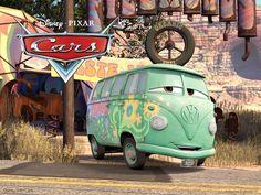 fillmore disney   Fillmore is a VW bus hippie in the Disney Pixar movie Cars wallpaper