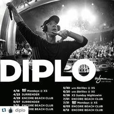 #Repost @diplo with @repostapp ・・・ endless summer in #Vegas