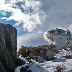 Calpine Fire Lookout, Tahoe National Forest, CA      While nearly all the other sites on this list offer a cleared patch of ground at best, Calpine Fire Lookout offers a fully functioning shelter, atop a mountain no less.