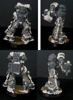 Space Marines with Exo-Suits? Ad Mech- Conversion Corner - Spikey Bits
