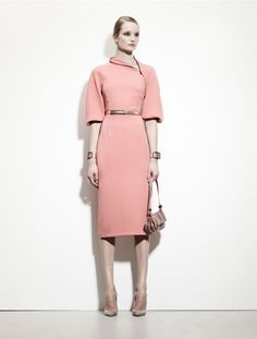 Bottega Veneta Pre-Fall 2013 ~ new cuts and accoutrements for fall